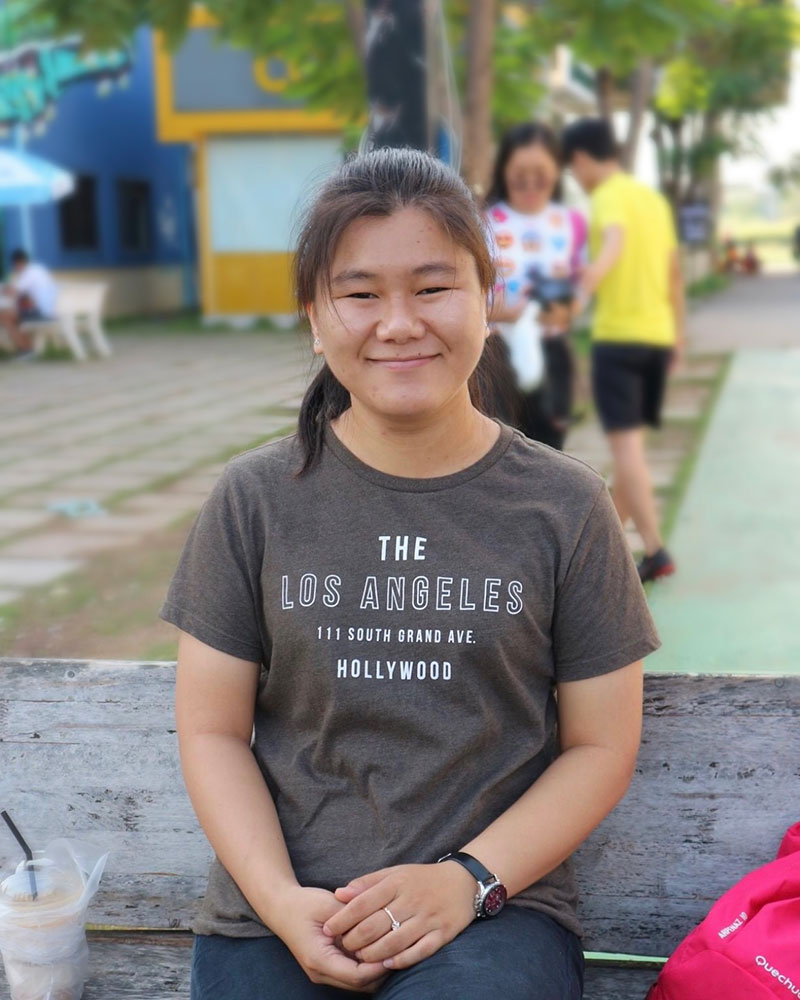 Chouleang UY - lauréate bourse Eiffel
